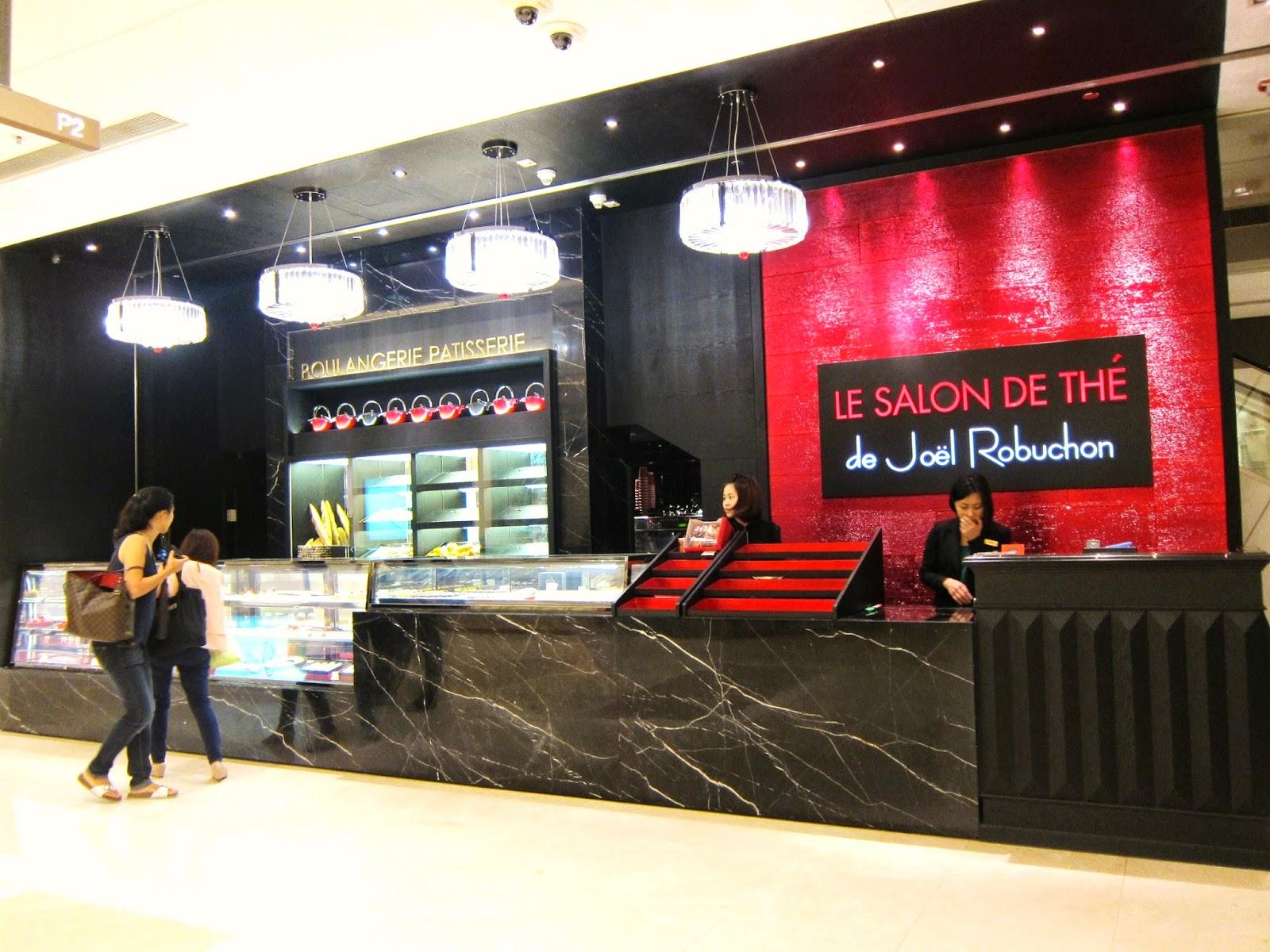 Fabrice le salon de th de jo l robuchon - Salon de joel robuchon ...