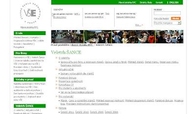 Veletrh pracovních příležitostí ŠANCE 2011