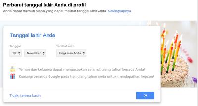 Google+ sekarang ada Fitur Events
