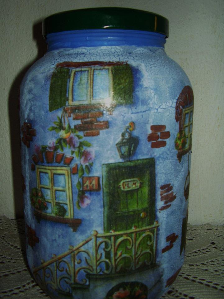 De tarro de aceitunas a accesorio de cocina decorativo y - Manualidades con botes de cristal ...