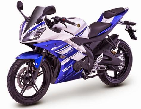 Yamaha R15 Blue Racing