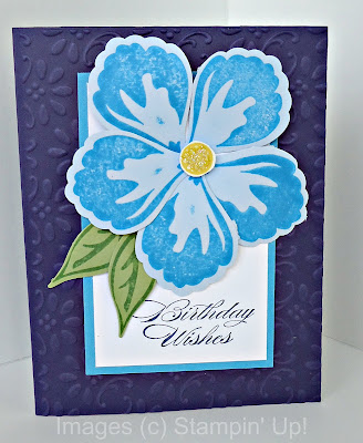 Stampin' Up! Bring on the Cake with Build a Blossom