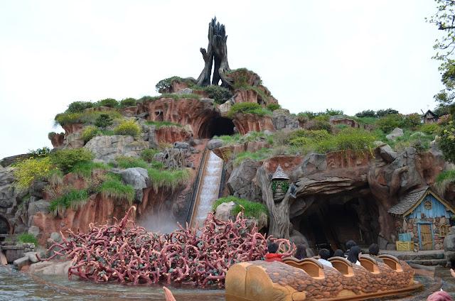 Splash Mountain, Tokyo Disneyland