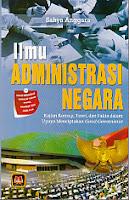 toko buku rahma: buku ILMU ADMINISTRASI NEGARA, pengarang sahya anggara, penerbit pustaka setia