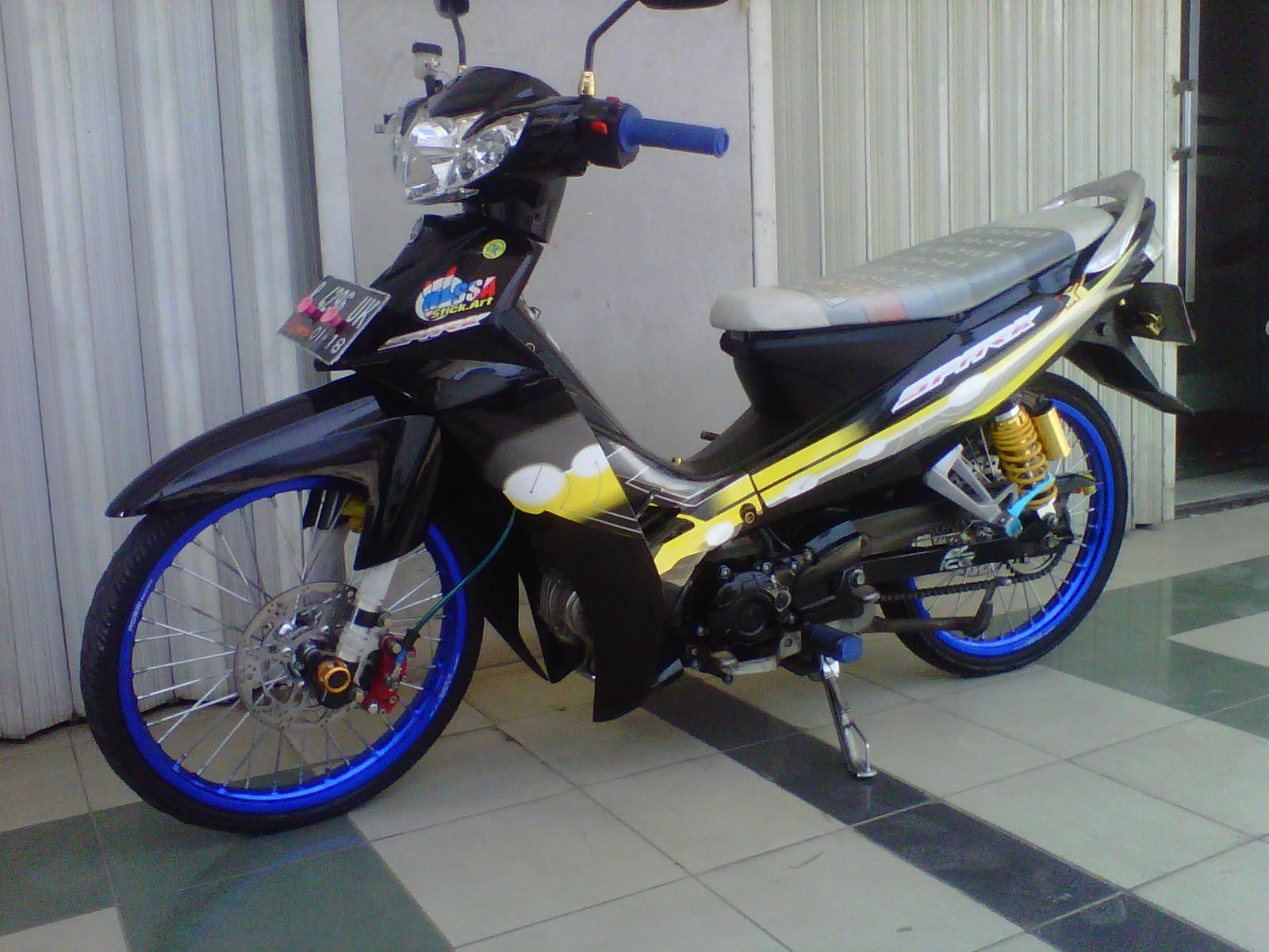 modifikasi motor vega r ceper terbaru: new vega r 2007 thailook