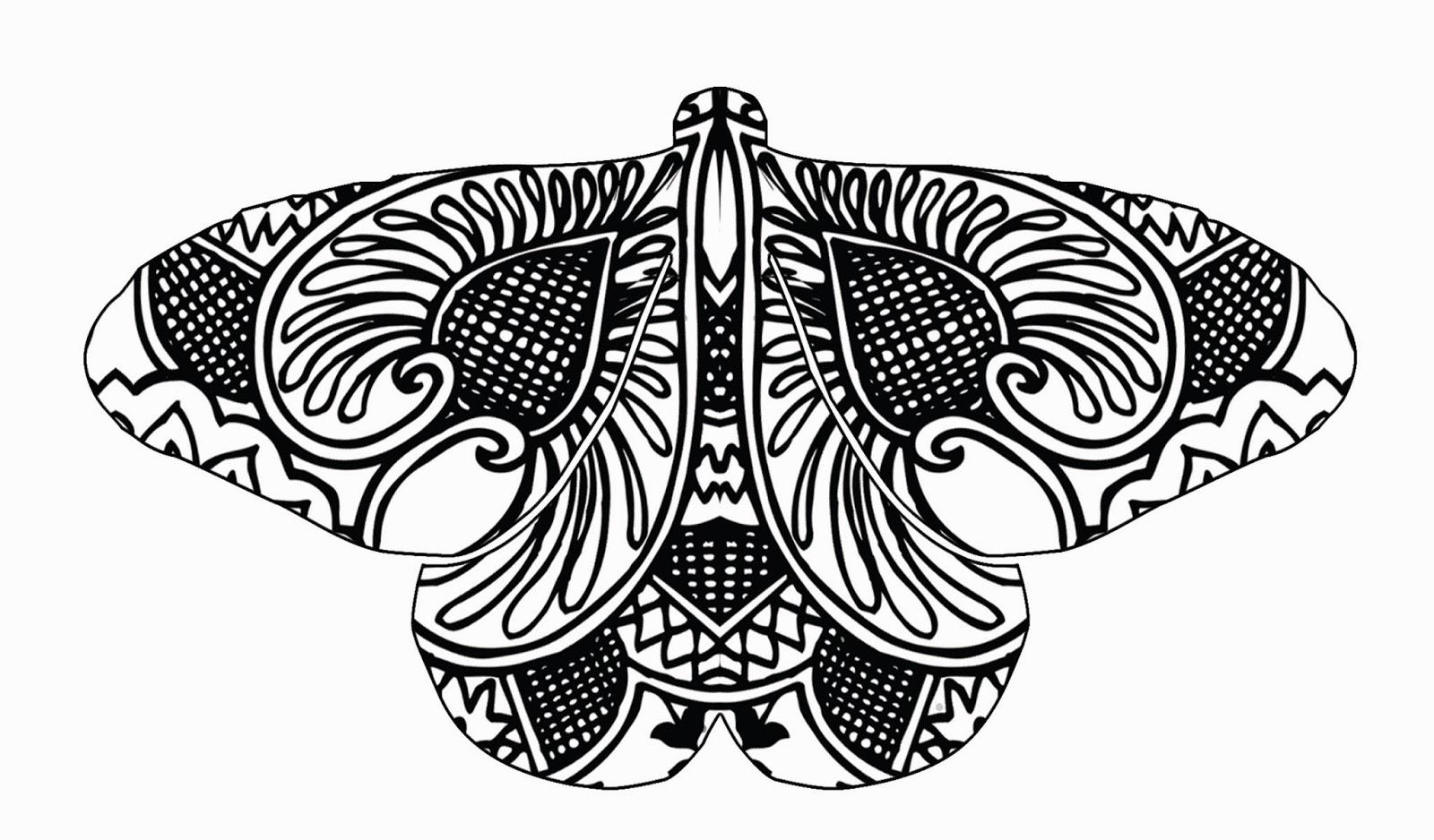 Brendan Burns Art Henna And Zentangle Butterflies