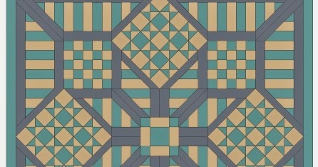 Quilt Patterns On Graph Paper : Imaginesque: Quilt Top: Block 5 Pattern&Templates for English Paper Piecing