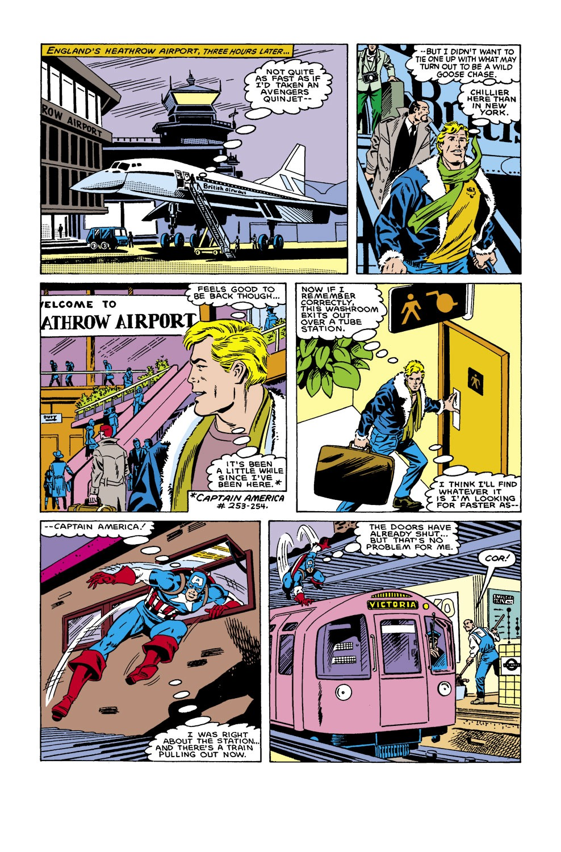 Captain America (1968) Issue #305 #233 - English 9