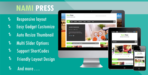 Download Nami Press Blogger Template Free - How To | How To Do Tutorial
