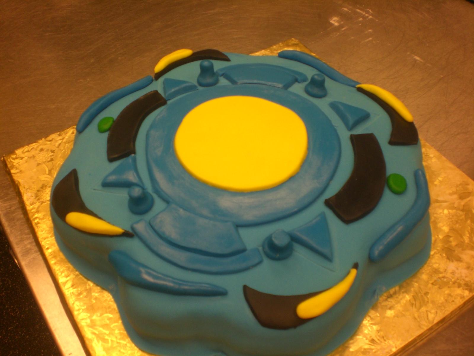 Cake Art Lawrenceville Hwy : CAFE AROMAS: Beyblade Cake