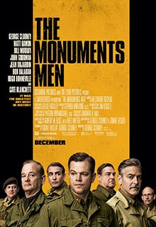 The Monuments Men Movie Poster 2014