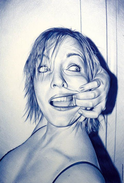 Ballpoint Pen Portraits4