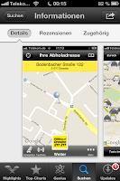 Ansicht Taxi Dresden App
