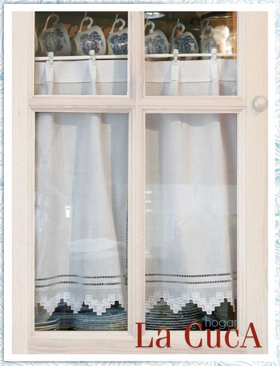 Visillos la cuca textil hogar decoraci n y beb - Decoracion textil hogar ...