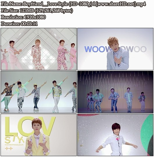 Download MV Boyfriend (보이프렌드) - Love Style (Full HD 1080p)