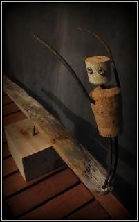 Soul arch statue de surfeur en bois flott mutoz inc for Arche en bois flotte