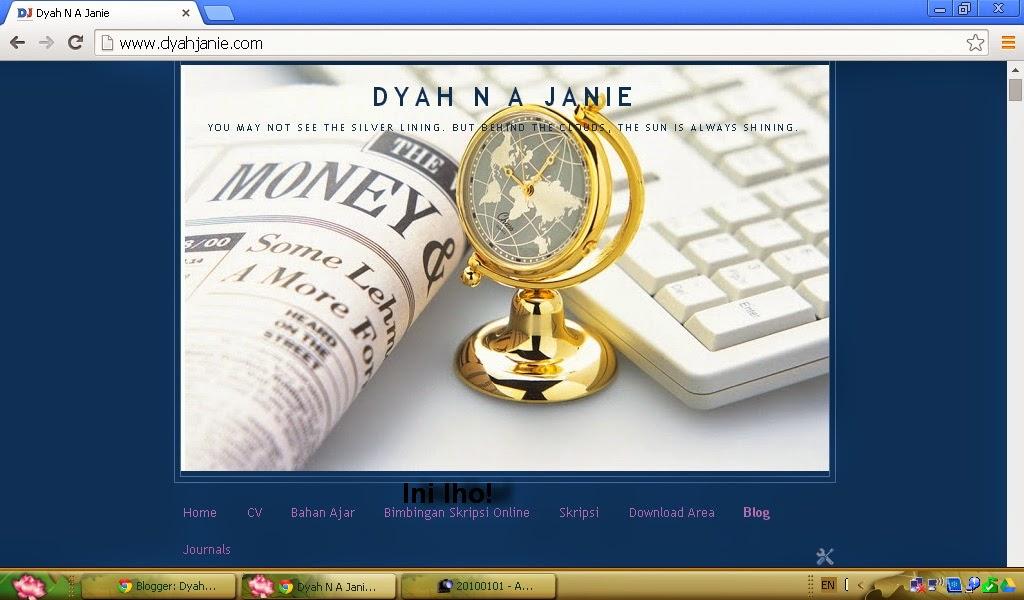 Dyah N A Janie Cara Melakukan Bimbingan Skripsi Online