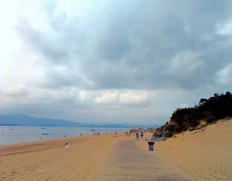 pasarela Playa de la Magdalena en Santander