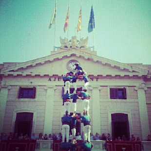 Castellers (Human Tower)