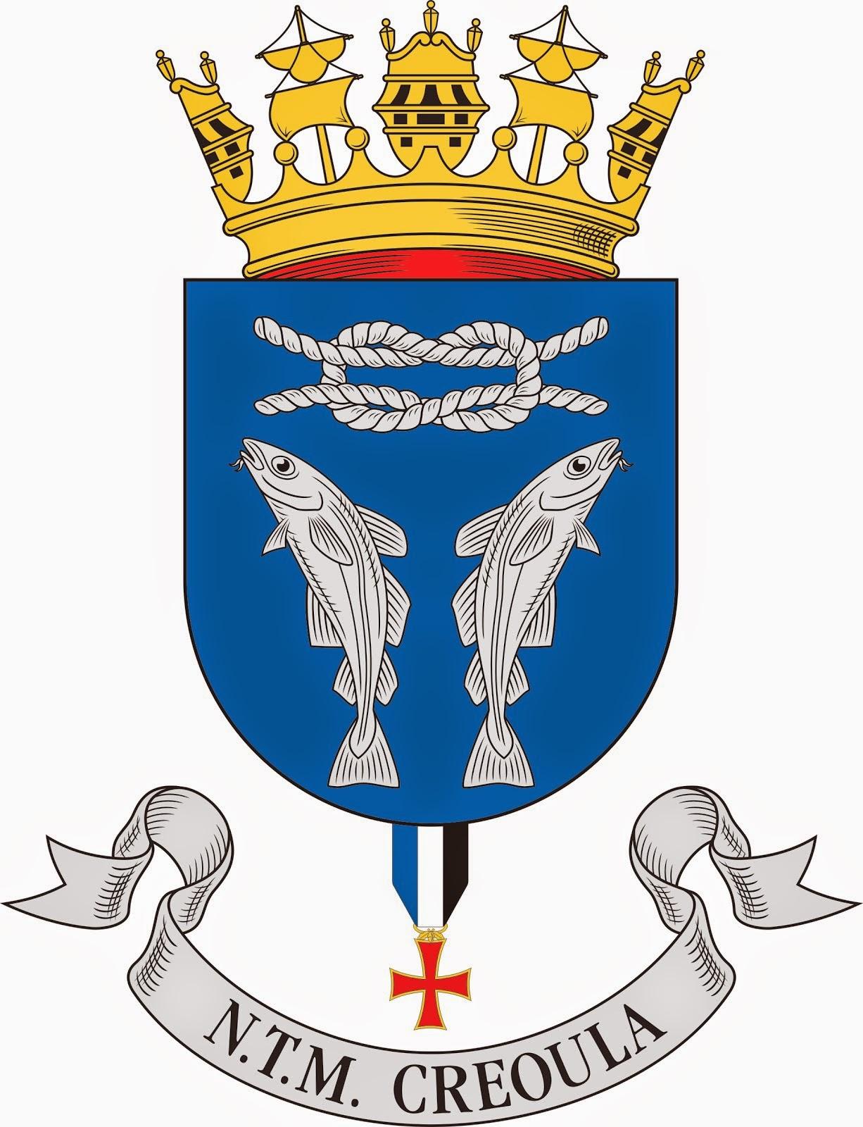 Brasão de armas do CREOULA