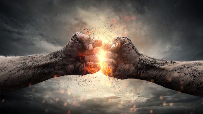 Pertarungan karya Benny Arnas
