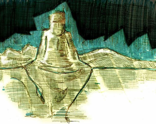 La vida soñada. Ilustración de Óscar Espín