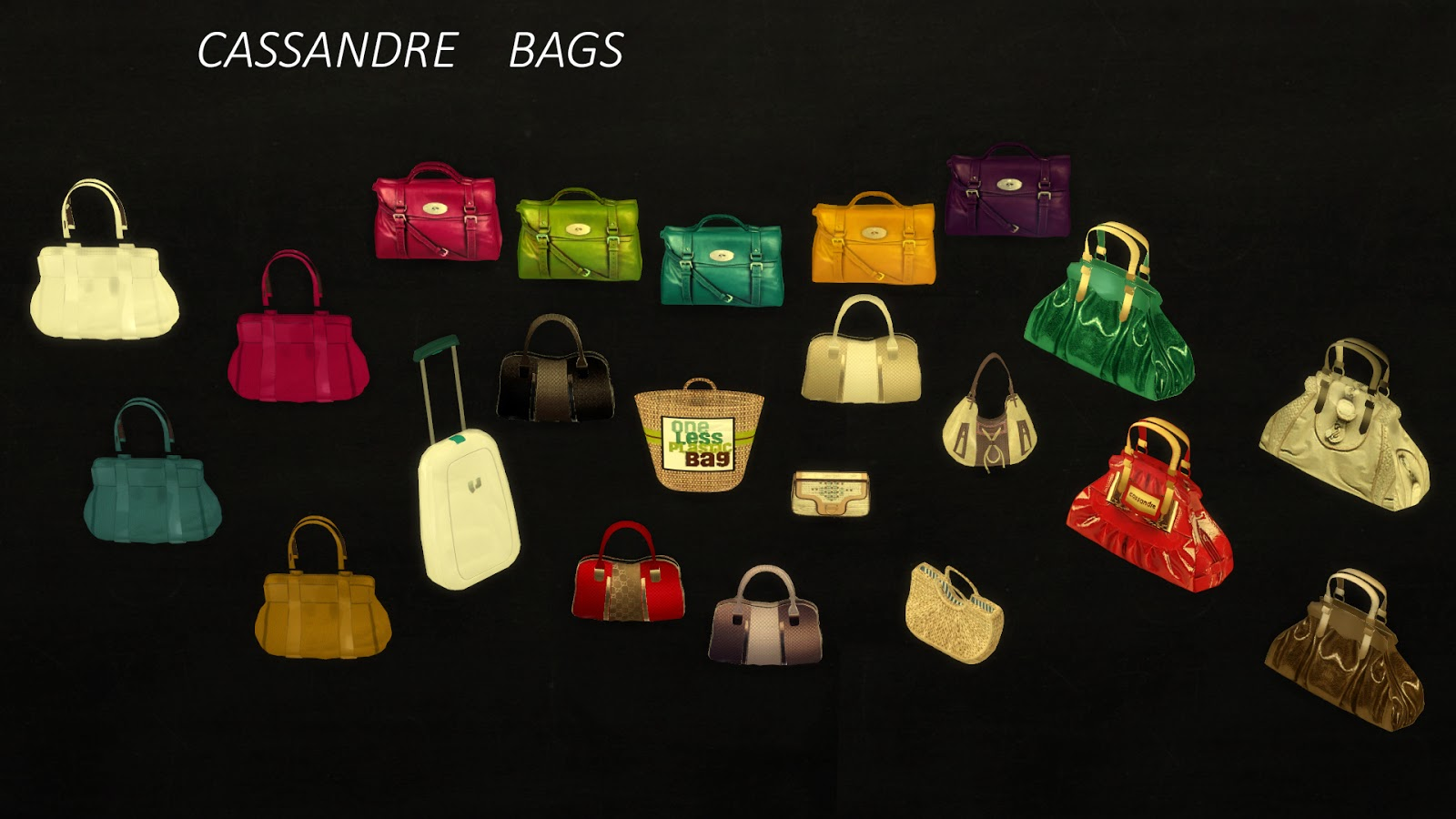 sims 4 cc's - the best: decorative handbags by leo sims, Badezimmer ideen