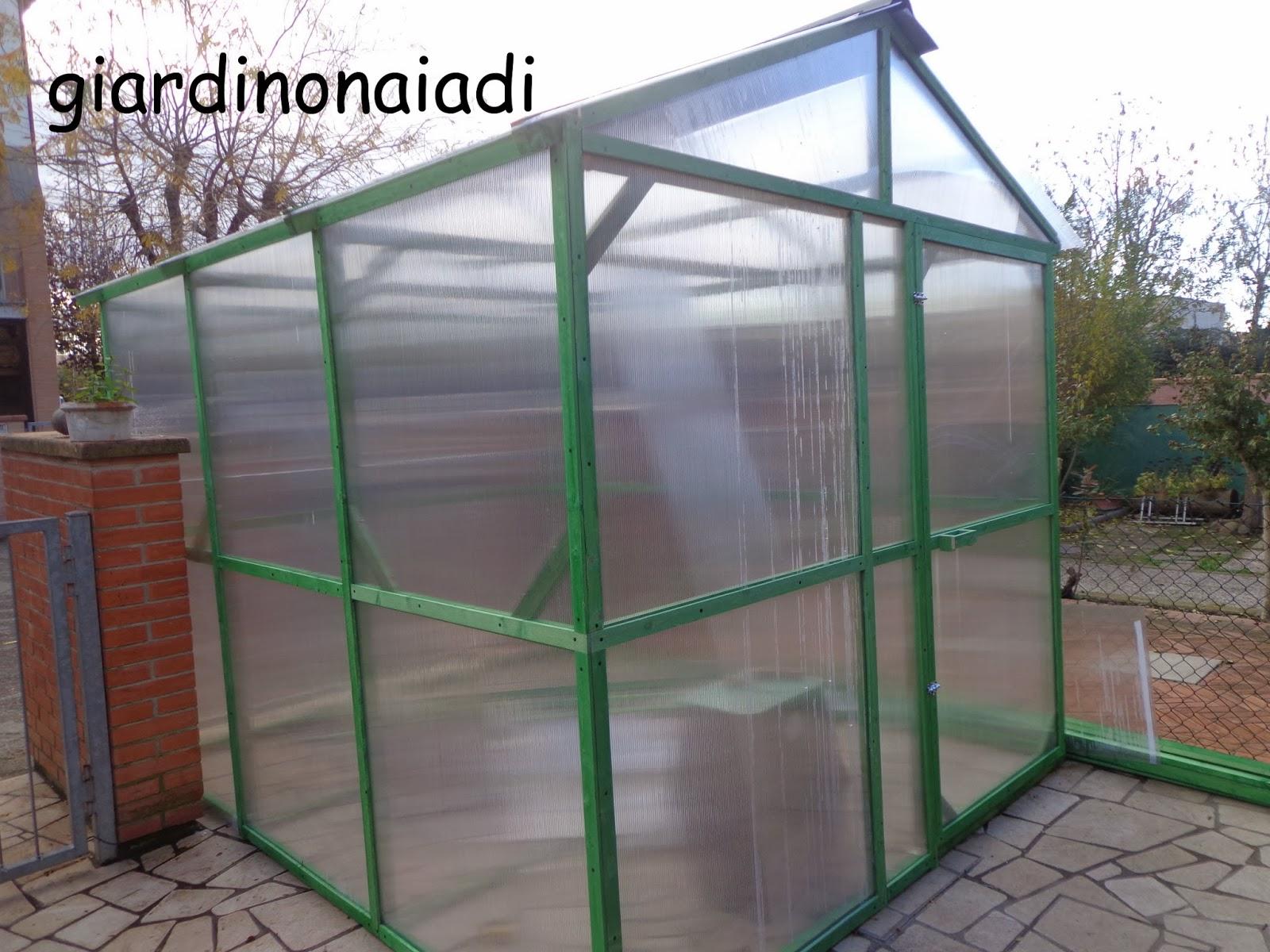Il giardino delle naiadi uno specchio d 39 acqua al coperto for Archi per serre da orto