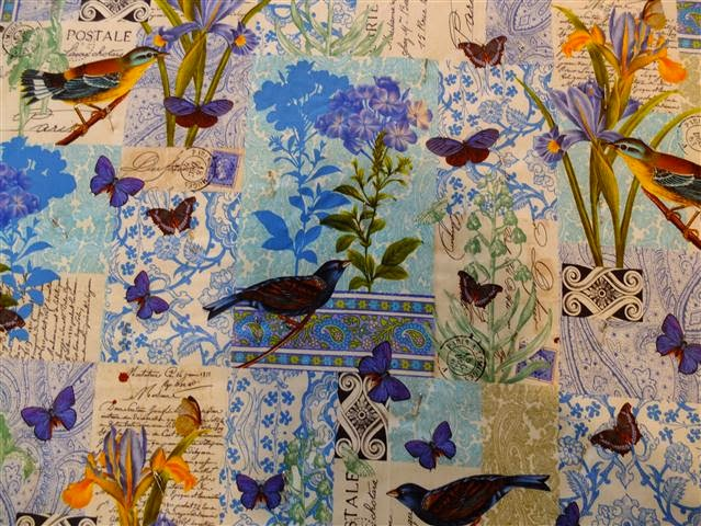 Bird and Butterflies quilt