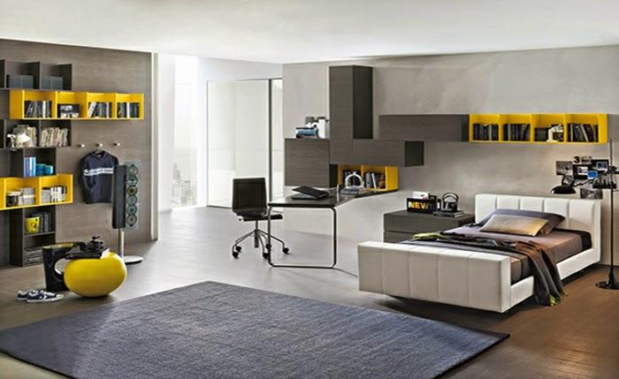Habitaciones juveniles modernas dormitorios colores y - Color habitacion juvenil ...