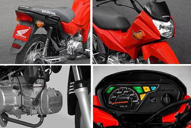 Honda POP 110i 2016 - painel
