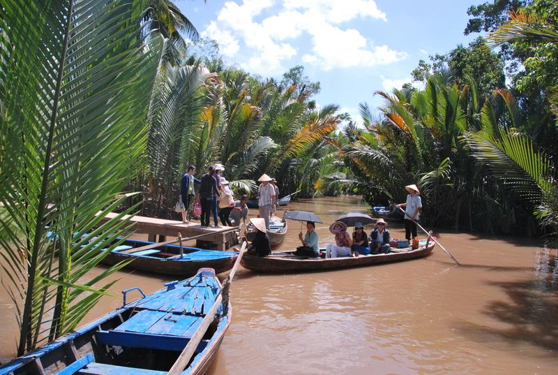 Tham quan khu du lịch Vườn dâu An Khánh, Mỹ Tho