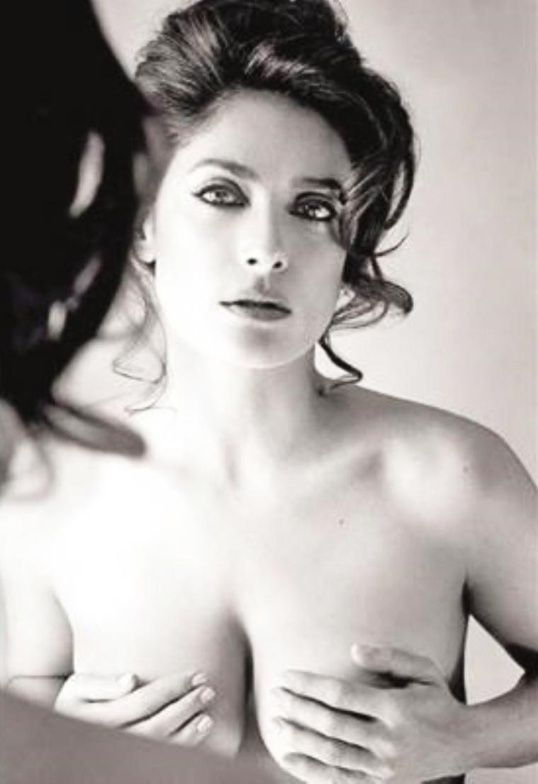 salma hayek topless movies