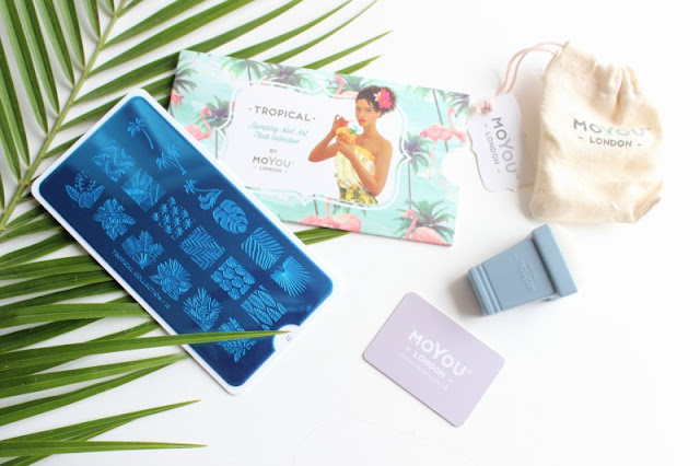 Nailbox July 2015 Tropical Treats