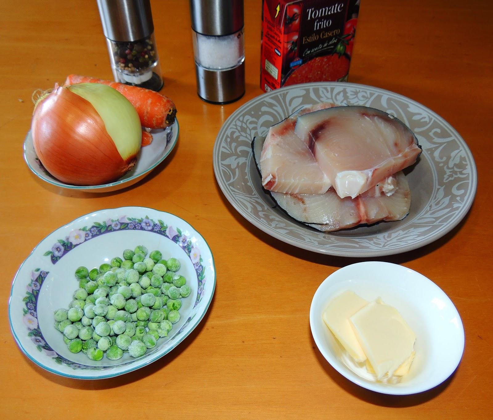 El placer de cocinar emperador con verduritas for Cocinar emperador