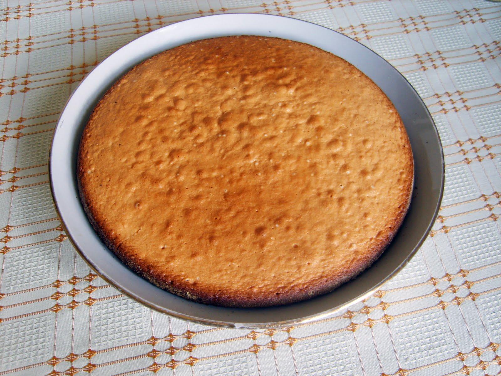 Рецепт классического бисквита с пошаговыми фото