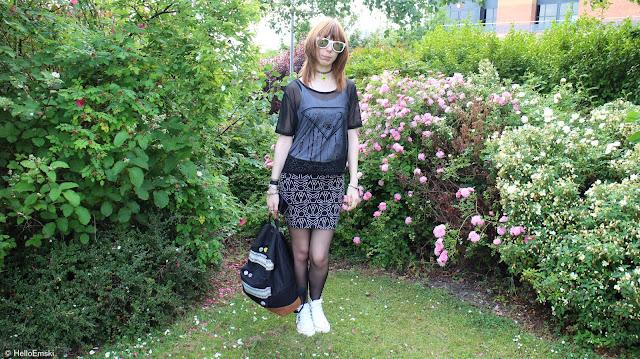 Pentagram Skirt | Outfit