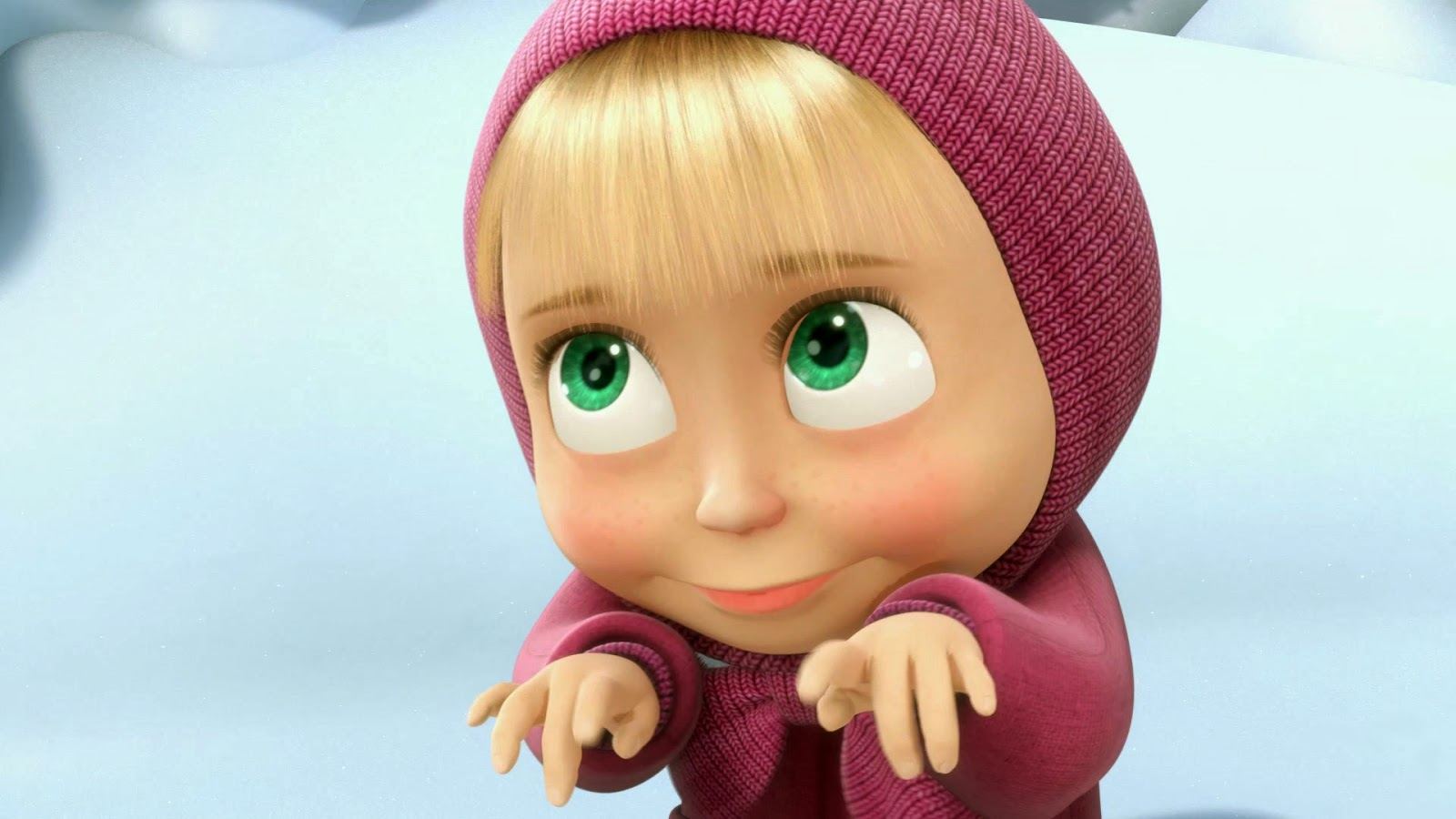 Foto Misha si Beruang di Film Masha And The Bear