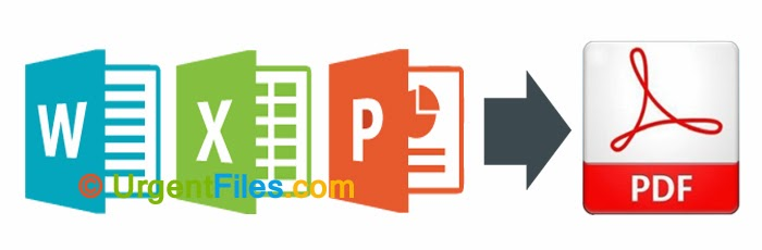 MS Office Excel, Word, PowerPoint to PDF Coverter Free Download