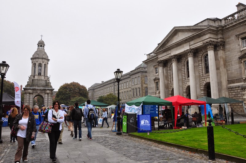 Irland 2014 - Tag 7 | Dublin | Trinity College