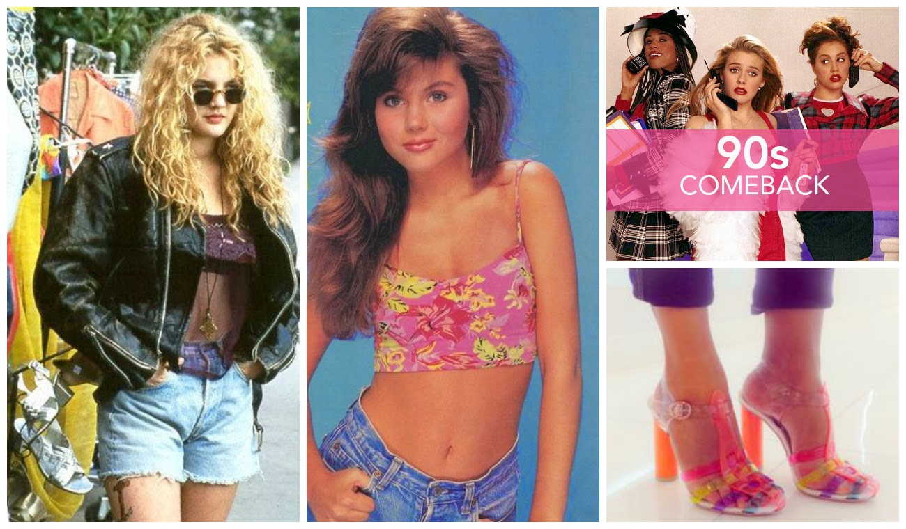 Top fashion trends of the 90s - Top 10 Trends Back From The 90s