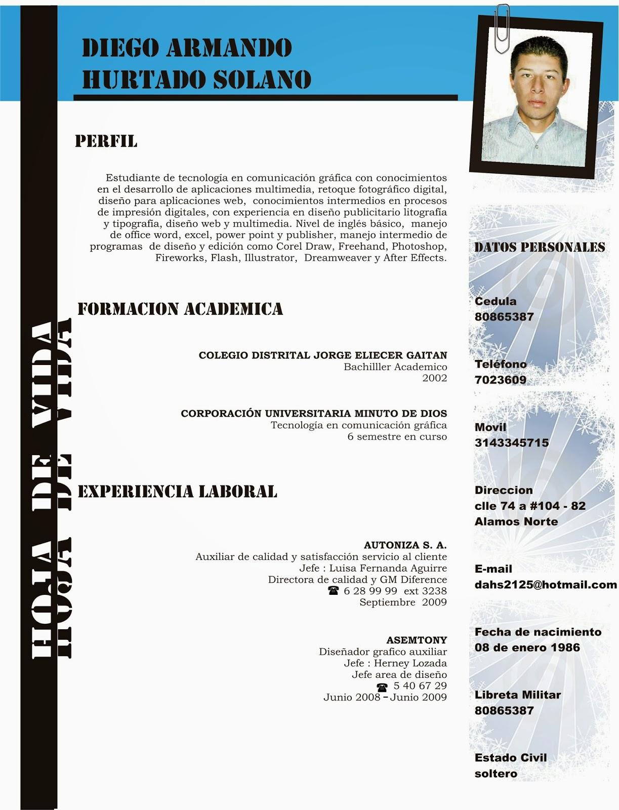 Dorable Modelo De Currículum Para Estudiantes De Ingeniería Foto ...