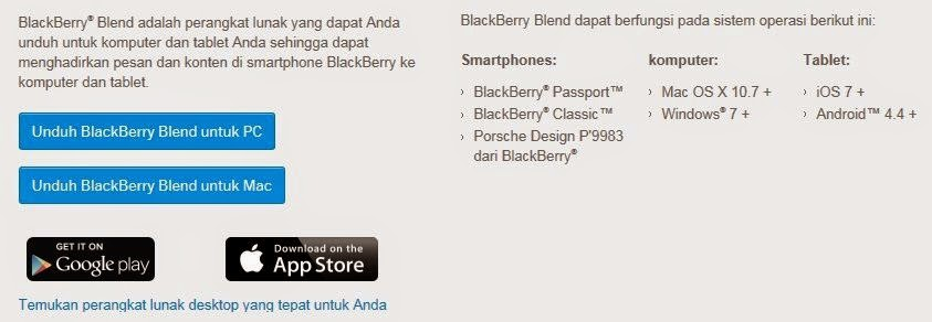 Download BlackBerry Blend