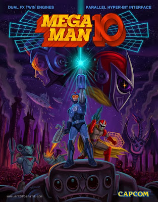 Epic Cover Mega Man