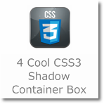 4 Cool CSS3 Shadow box to use