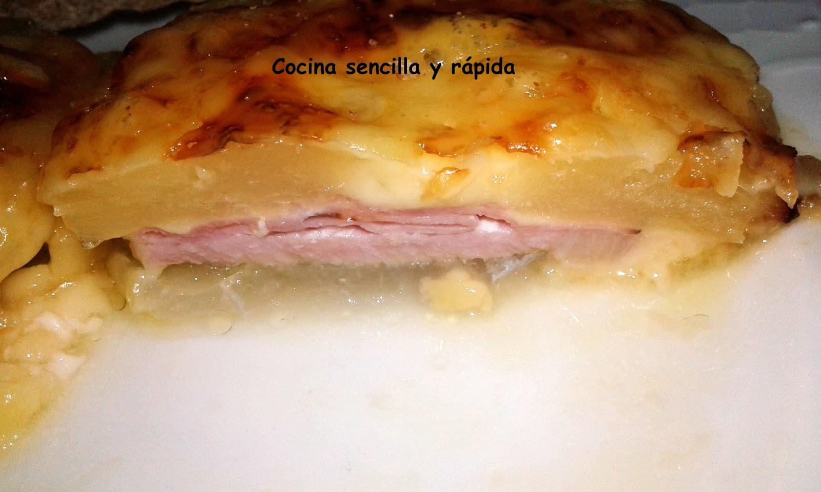 Cocina sencilla y r pida lomo con pi a for Cocina rapida y sencilla