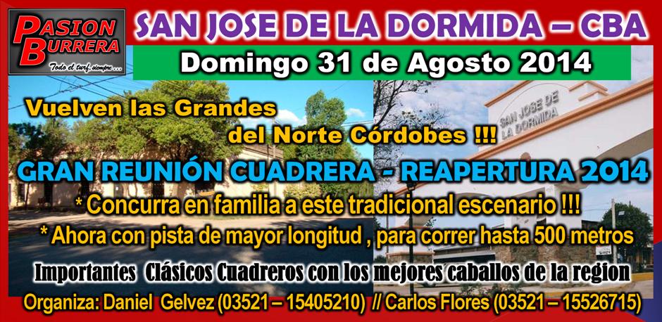 LA DORMIDA - 31 DE AGOSTO