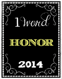 My 2014 Word