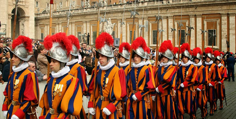 Swiss-Guard-Vatican-City
