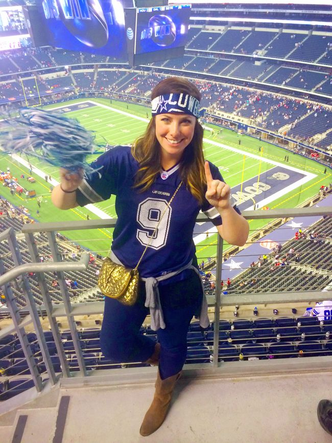 Dallas Cowboys Football Female Fan